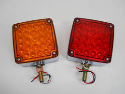 2) LED Red Amber Side Marker Turn Signal Semi Truck Fender Lights ... Big Rig Chrome Shop Semi Truck Lighting And 25 Dot Led Semitrailer Round Side Marker Light Semitruck Rope Light Videos Custom Trucks Lights Blingmaster Volvo Vnl 780 670 Undercab Accent Kit Boogey Bar For Big Machine Parts Trailer W Builtin Flange 512 Brake Kenworth Cab Sleeper Kits Chicken Bars Utility Work Commercial Cstruction Vehicles China Semi Truck Parts Whosale Aliba Mack Anthem Features