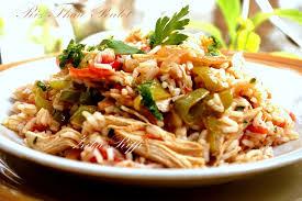 cuisine thailandaise recettes riz thaï au poulet cuisine de zika