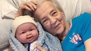 Alzheimers Patients Show Joy When They Receive Baby Dolls