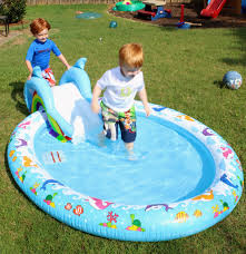 Backyard Pool Time - Redhead Baby Mama | Atlanta Blogger The Plastic Kiddie Pool Trash Backwards Blog Intex Aquarium Inflatable Swimming Outdoor Pools Amazoncom Swim Center Family Lounge Toys Games Seethrough Round Above Ground Toysrus 15 X 36 Easy Set Portable By Quick 4 Less And Legacy Blow Up Walmart Backyard At Big Lots Toy Ideas Tedxumkc Decoration And Kids At Ace Hdware Tips Enjoy Your Quality Time With Child Using