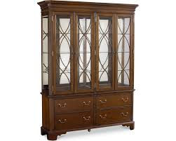 Baker Breakfront China Cabinet by Wood Buffet Tables U0026 Buffet Cabinets Thomasville Furniture