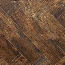redwood mahogany 6x24 wood plank porcelain tile flooring