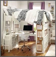 Loft Queen Bed Interiors Design