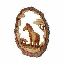 gartenfiguren skulpturen holz tierdeko dekofiguren