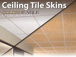 2x4 Drop Ceiling Tiles by Amazon Com 2x4 Glue Up Ceiling Tile Skin Light Knotty Pine
