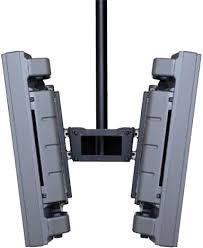 peerless plb1 plasma and lcd dual screen monitors ceiling mounts plb 1