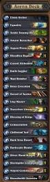 Amaz Deck List by 12 Win Decklists The Arena Hearthstone Game Modes Hearthpwn