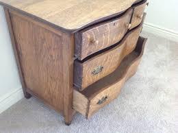 Tiger Oak Dresser Chest by Antique Tiger Oak 4 Drawer Dresser Furniture In San Jose Ca