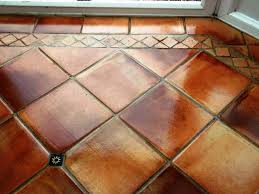 choosing and living with terracotta floor tile home design