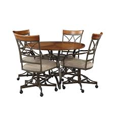 100 Cherry Table And 4 Chairs Powell 5 Piece Hamilton Dining Set And Swivel
