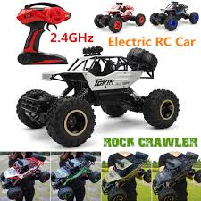 100 Electric Rc Monster Truck 24Ghz RC Car 4WD Remote Control Vehicle Buggy Off