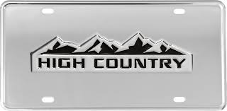 Truck Hardware - Truck Hardware Gatorgear High Country License Plate