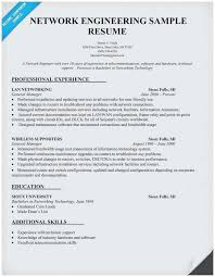 Computer Hardware And Networking Resume Samples Outstanding Network Technician Sample
