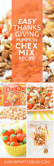 Pumpkin Spice Chex Mix With Candy Corn by Kara U0027s Party Ideas Easy Thanksgiving Pumpkin Chex Mix Recipe