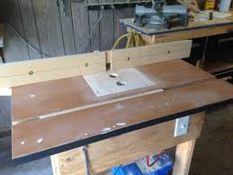 router table and fence homemade shop machines and equipment forums