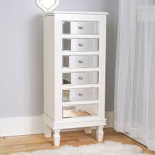 25 Beautiful White Jewelry Armoires | Zen Merchandiser Belham Living Lighted Wall Mount Locking Jewelry Armoire Fniture Mirror Tall Swivel Cheval Hayneedle Mirrored And Cabinet Steveb Interior How To Bassett Borghese Media Armoires Pinterest French Vintage Style Shabby Chic Antique White To Canada Antique White Gold French Armoires Chateau Wardrobe Ikea Aspelund 25 Beautiful Zen Mchandiser Armoire Mirror And Jewelry Organizer