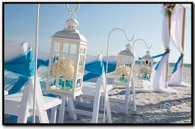 Simple But Elegant Beach Wedding Decor
