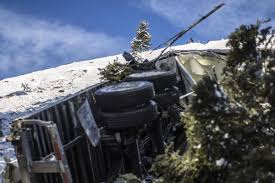 100 Truck Wrecks Videos Potato Trucks Pummel The Pass Town County Jhnewsandguidecom