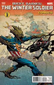 Bucky Barnes the Winter Sol r 2 Rocket and Groot Variant