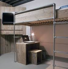Free Loft Bed Plans For College by Diy Loft Bed Plans Free College Bed Lofts Basic Loft Bed