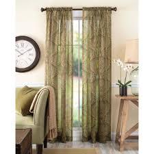 semi sheer curtains