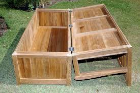 Plastic Garden Storage Bench Seat by Garden Bench With Storage For Beautiful Build Corner Storage Bench