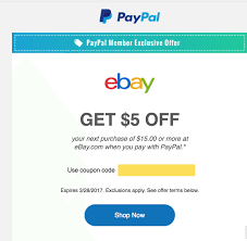 EBay $5 Off $15 [Targeted Email Offer] - Doctor Of Credit Ebay Gives You A 15 Discount On The Entire Website As Part Printable Outlet Coupons Nike Golden Ginger Wilmington Coupon Great Lakes Skipper Coupon Code 2018 Codes Free 10 Plus Voucher No Minimum Spend Members Only Off App Purchases Today Only Hardforum 5 Off 25 Or More Ymmv Slickdealsnet Ebay Code Free Shipping For Simply Ebay Chase 125 Dollars Promo Ypal Www My T Mobile Norton Renewal Baby Deals Direct Nbury New May 2016