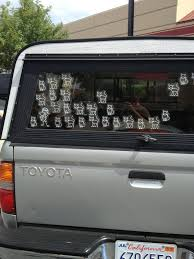 100 Cool Truck Stickers 14 Funny Alternatives To Annoying Stick Family Car Decals PHOTOS