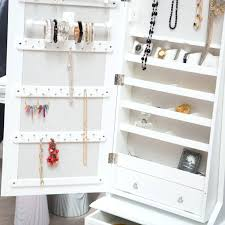 Jewelry Armoire Cheap – Abolishmcrm.com Bedroom Amazing Jewelry Box With Mirror Front Large White Tips Interesting Walmart Armoire Fniture Design Ideas Locking Jewelry Armoire And Adjustable Fulllength Mirror Combined Free Standing Mirrored Best Wood Storage Material For Tall Dark Brown Wooden Drawers And Door On Amazoncom Plaza Astoria Walldoormount Black Cabinet Organizer Ring Innovation Oak Abolishrmcom 25 Ideas On Pinterest