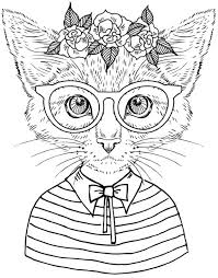 Best Coloring Books For Cat Lovers