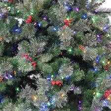Essex Pine 75 Dual Instant Lite Pole Musical Pre Lit Artificial Christmas Tree