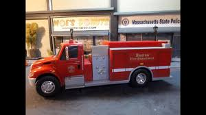 100 Boley Fire Trucks Boston Dept 124 Scale International Truck With Lights And