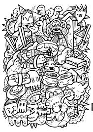 Crazy Sushi Coloring Page