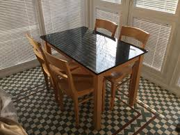 John Lewis Granite Table And Chairs Set In Ryde
