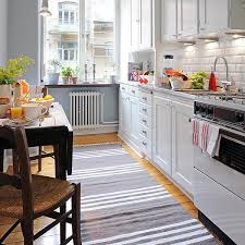 Modern Interior Design With Striped Rugs And Carpets