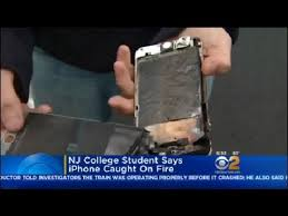 iPhone Catches Fire