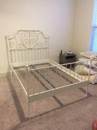 leirvik bed frame ikea leirvik bed white size for sale in cedar hill tx