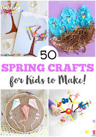 Get Ready To Welcome Warmer Weather With These Fun Spring Crafts For Kids Make
