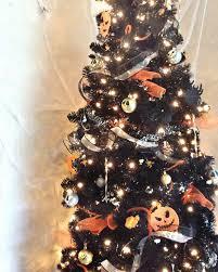 6ft Slim Black Christmas Tree by Black Artificial Christmas Tree Treetopia