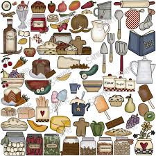Baking Clipart Country Kitchen 6