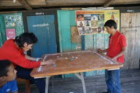 Carrom Board Game For Porters