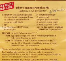 Solid Pack Pumpkin Pie Recipe by Libby S Pumpkin Cake Spice Recipe Best Food Recipes