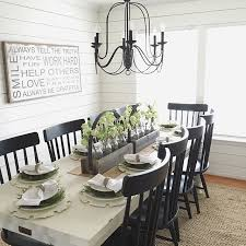 Dining Room Ideas Amusing White Rectangle Rustic Wooden Farmhouse Stained Cool