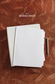 Diy Wedding Binder With Free Printables