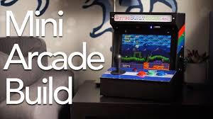 Mini Arcade Cabinet Kit Uk by Build A Portapi Mini Tabletop Arcade Youtube