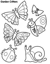 Draw Insects Coloring Pages New At Design Desktop