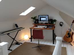 Exciting Music Studio Design With Wooden Computer Desk Under ... House Plan Design Studio Home Collection Rare Music Ideas Modern Recording Decorating Interior Awesome Fniture 6 Desk A Garage Turned Lectic At Home Music Studio Professional Project 20 Photos From Audio Tech Junkies Pictures Best Small Corner Plans With Large White Wooden Homtudiosignideas 5 Pinterest