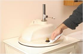 Install Overmount Bathroom Sink by How To Remove A Drop In Bathroom Sink Get Minimalist Impression
