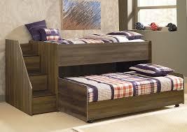 American Furniture Galleries Juararo Twin Loft & Caster Bed Set w