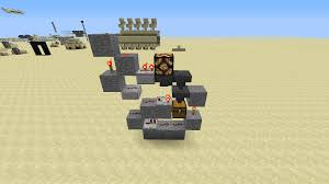 Redstone Lamp Minecraft 18 by 1 Wide 1 1 Item Shop Using Hoppers Redstone Creations